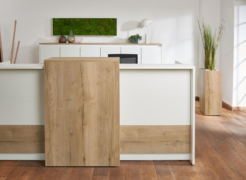 Büroeinrichtung empfang  Empfang & Lounge - bueroboss.de/pfannkuch