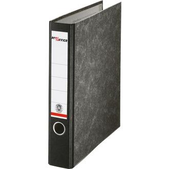 Pro/office Ordner, A4, 50mm, schwarz, Wolkenmarmor-Design