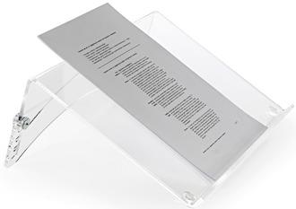 Bakker Elkhuizen Dokumentenhalter FlexDoc, 39x8x26cm, klar, BNEFDCC
