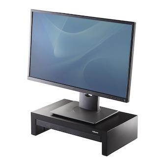 Fellowes Monitorständer Designer Suites, 406x229mm, schwarz, 8038101, höhenverstellbar