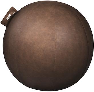 Novus Sitzball Pila, 70cm, braun, 990+0706+000, Ballüberzug, Handpumpe, PVC